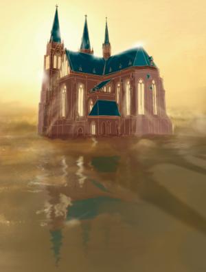 Svatá Ludmila - kostel na Náměstí Míru