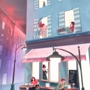 letní kavárna