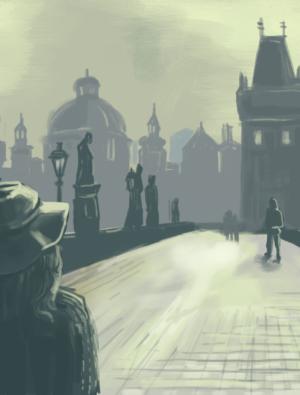 Praha vyprázděná